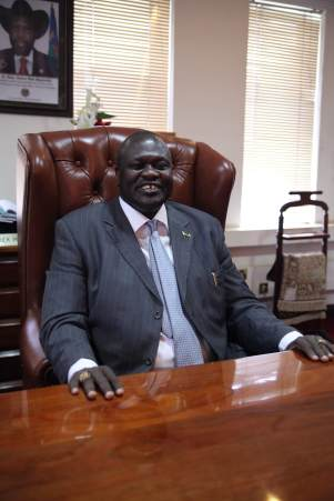 Riek Machar Teny, former vice president and current leader of rebel forces in South Sudan  Photo credit: Hannah McNeish